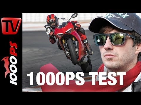 Ducati Panigale V4 Test Rennstrecke! 226PS in Action!