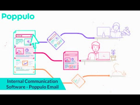 Internal Communication Software - Poppulo Email