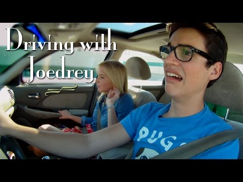Audrey Whitby and Joey Bragg pick up Blake Michael in Driving with Joedrey