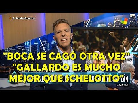 Fantino re caliente con River Campeón Supercopa carga contra los jugadores de Boca y el DT