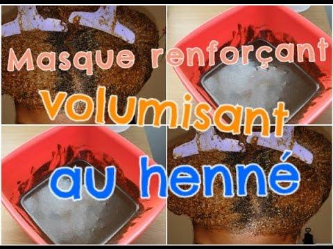Challenge Volume masque ultra fortifiant au henné