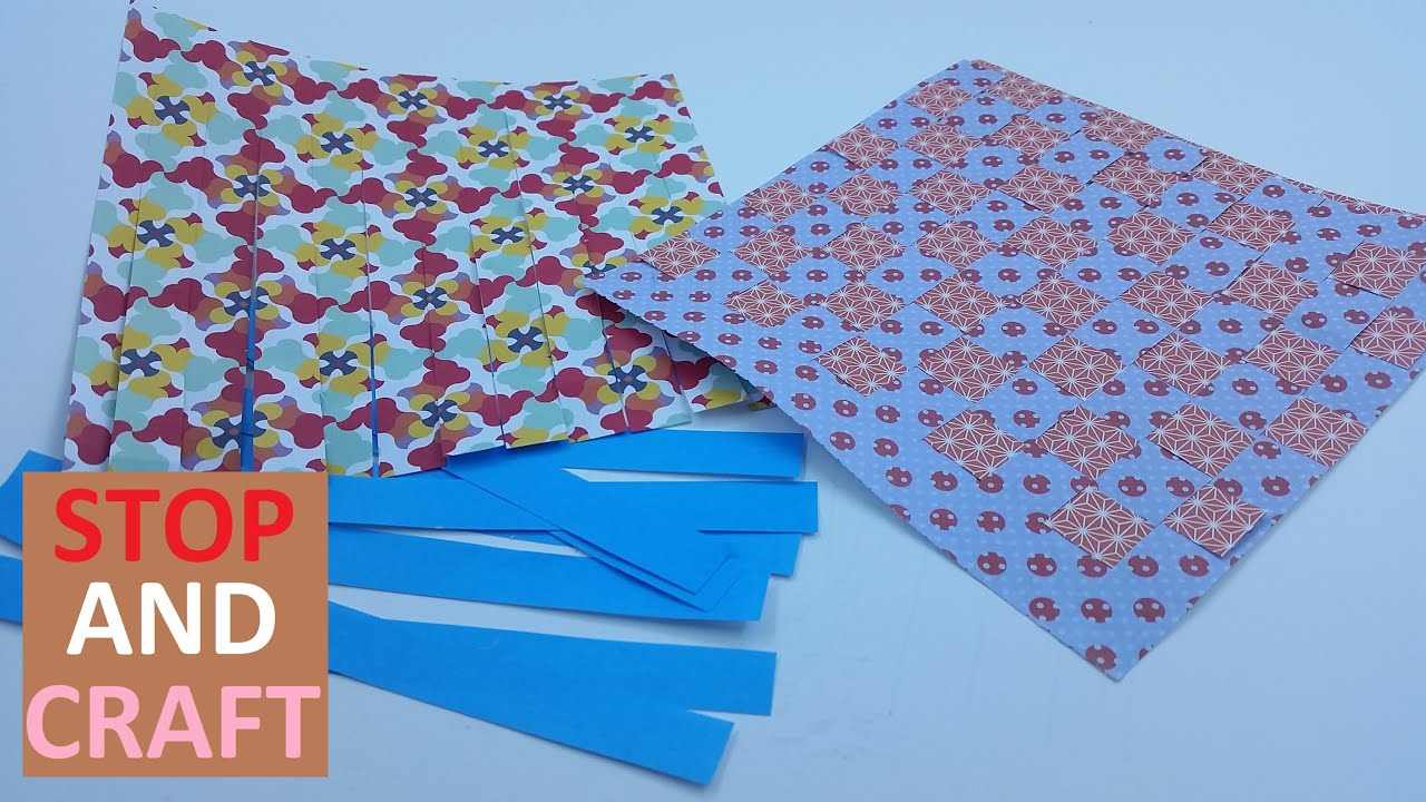Basket Weaving Using Construction Paper : How to weave paper make patterns