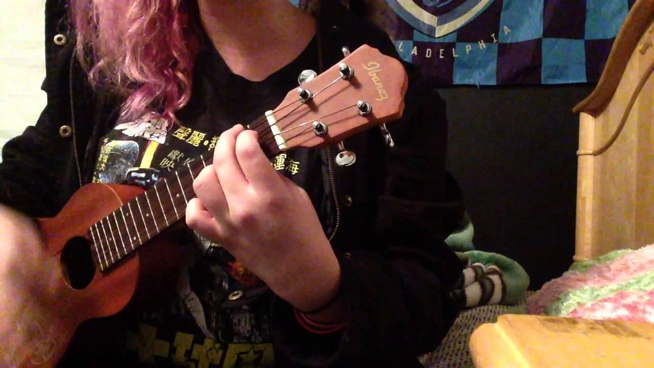 Joyce Manor Christmas Card ukulele cover - YouTube