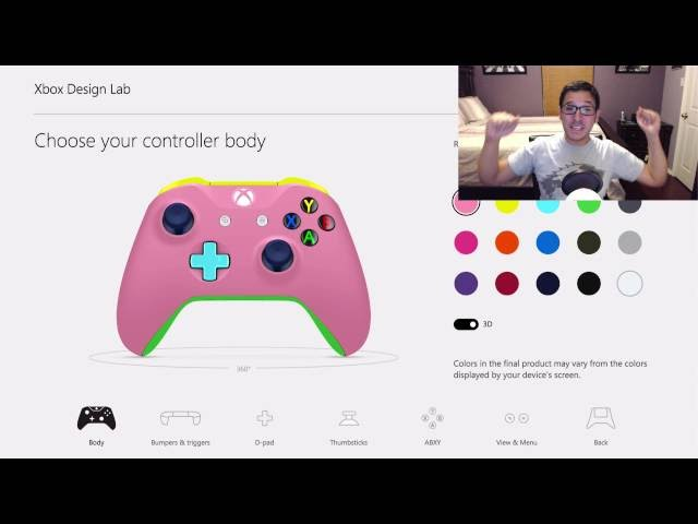Xbox One S and Design Lab Custom Controllers Reaction