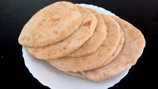 Whole Wheat Pita Bread Recipe Without Oven | How To Make Kuboos At Home