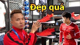 Thử Thách Bóng Đá Asian Cup 2019 DKP đi tìm giày Lương Xuân Trường và mua bóng của Pogba , De Gea