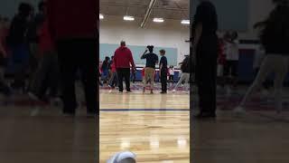 Middle school P.E class doing fortnite dances