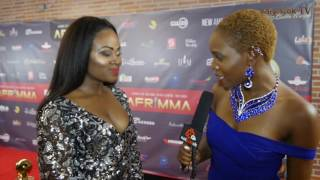 Ecovangel on the Red Carpet | Afrimma 2016