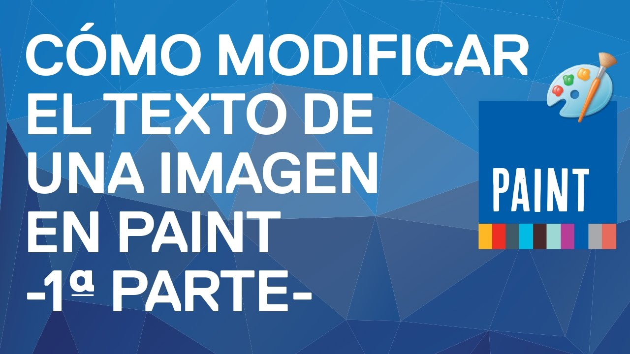 C mo modificar el texto de una imagen con paint windows 7 - Se puede empapelar sobre gotele ...