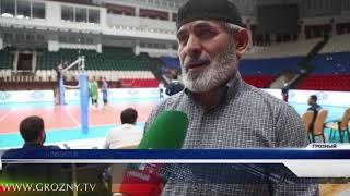 В Грозном прошли игры предварительного этапа Кубка России по волейболу