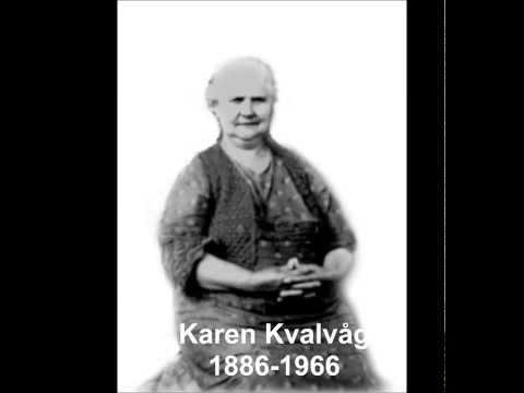 Kvinner frå Ryfylke 2 - Karen Kvalvåg (Strand kommune)