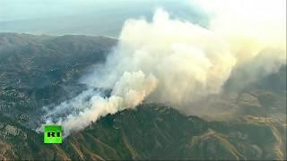 Los devastadores incendios forestales siguen consumiendo California