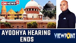 Day-To-Day Ayodhya Hearing Ends: What Next?  | Viewpoint With Bhupendra Chaubey
