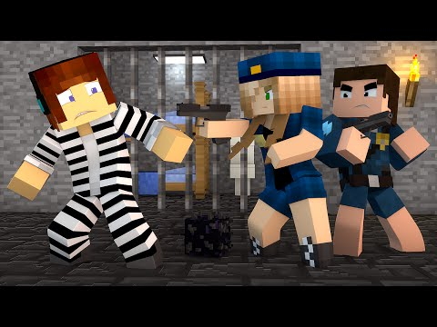 Minecraft : Authentic Foi Preso !! - ( Polícia e Ladrão)