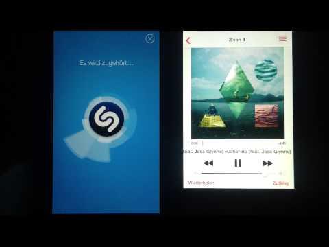Lieder erkennen mit der Shazam App