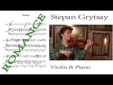 Romance for Violin & Piano [Sheet Music]