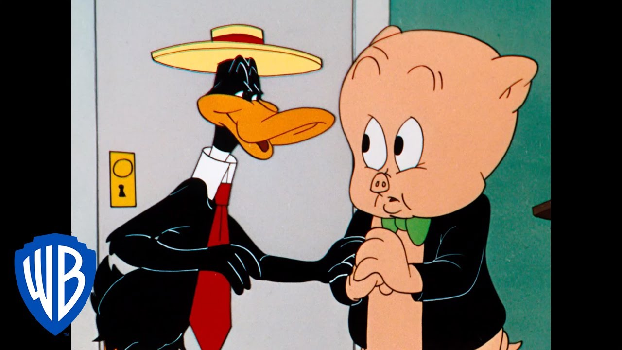 Looney Tunes | Daffy Tries To Scam Porky | Classic Cartoon | WB Kids