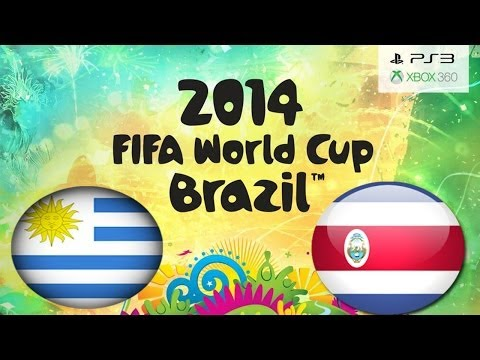 FIFA 14 WORLD CUP BRAZIL Uruguay Vs Costa Rica (Simulation)