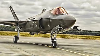 USAF F-35s Land In Poland • 1st Time