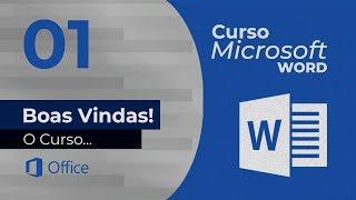 Curso Microsoft Word - Boas Vindas