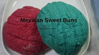 How to Make Mexican Sweet Buns /Concha