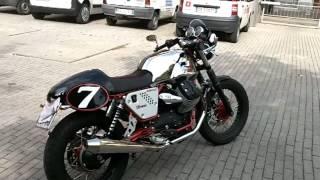 Moto Guzzi V7 Racer my 2012 SOUND Agostini Mandello Exhaust