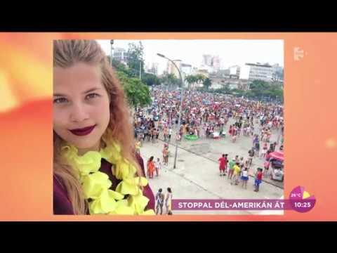 Elképesztő! 120 ezer forinttal vágott neki Dél-Amerikának a stoppoló lány - tv2.hu/fem3cafe