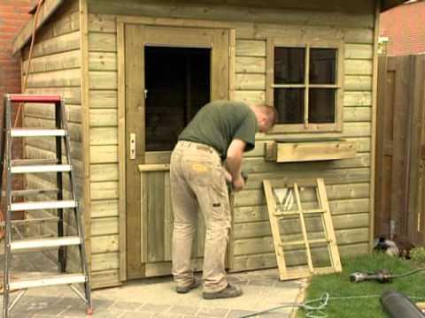 Beste opbouwen van een tuinhuisje voor kleine tuin Fuchsia (met eigen WU-97