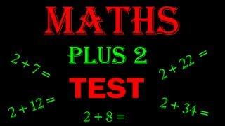 maths online - math for kids Plus 2 TEST