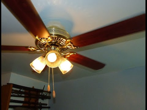 DIY Ceiling fan install