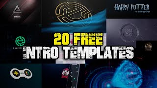 Top 20 Intro Templates 2021 | Free Templates For Download
