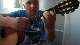Уроки гитары.Красивое фламенко