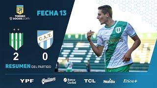 Банфилд  2-0  Атлетико Тукуман видео