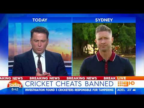 Michael Clarke's Interview On Steve Simth's Apology And The Australian Cricket Team Ball Tampering