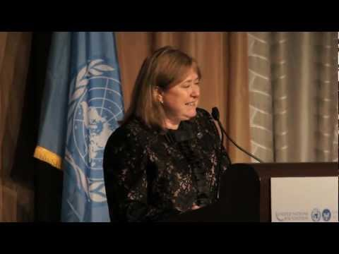 Susana Malcorra: 2011 UN Foundation Global Leadership Award Dinner