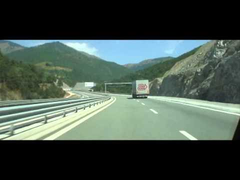 Fast Driving from Albania to Kosovo