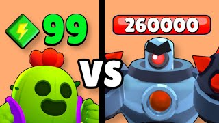 POWER 99 BRAWLER vs BOSS ROBOTER! 😱 Brawl Stars Olympiade