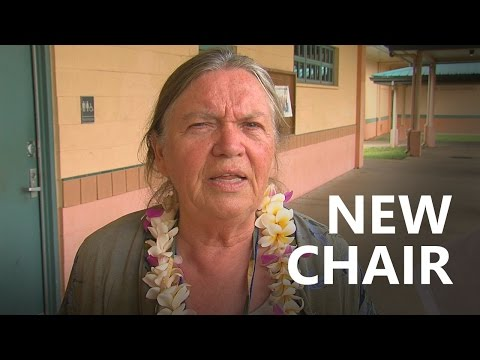 Wille New Hawaii County Democratic Party Chair (May 6, 2017)