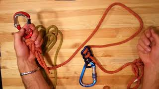 How to Build a Via Ferrata kit with Fall Sink - clutch (tutorial)