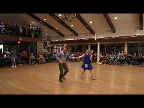 """""""Singin' in the Rain"""" 2nd Place Swing   Christendom College 2020 Swing & Waltz Competition"""
