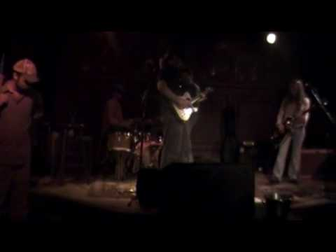 Sweet Jones band in Balcony Music Club on Decatur st. New Orleans Part 1