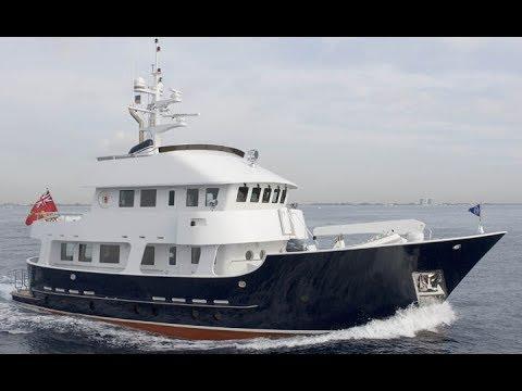 75' Molokai Strait Expedition Motor Yacht HERCULES - Bradford Marine Yacht Sales