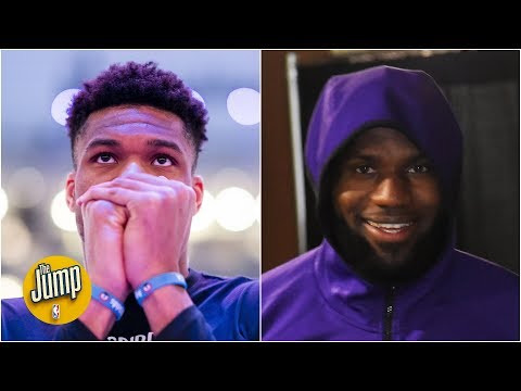 Zion could be the NBA's future, but it's still LeBron and Giannis' NBA - Rachel Nichols | The Jump