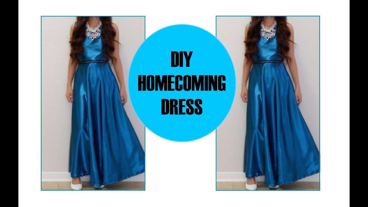 DIY Homecoming Dress - YouTube