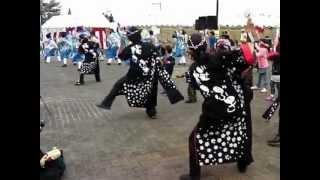 総踊り 2012.11.11 いには野祭り