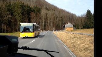 Postauto Zürich | Linie 240: Hausen a.A., Post - Thalwil, Bhf. (v. Albispass) | Solaris Urbino 18