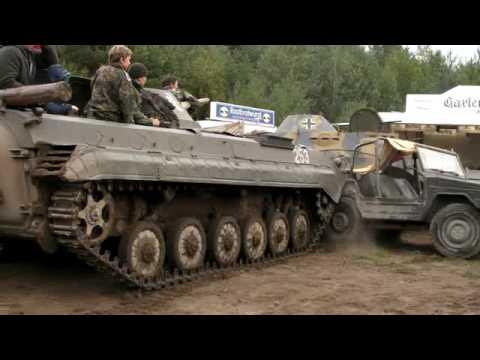 Warum 8-jährige NICHT Panzer fahren sollten :)