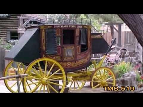 Youtube Disneyland Stage Coach