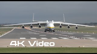 Antonov An225 Mriya landing in  England 4K video Антонов Ан-225 Мрия посадка в Англии(According to https://www.leipzig-halle-airport.de/reisende-und-besucher/erlebnis-airport/spotterbereich-72.html … the Antonov An-225 will land in Leipzig on 10 ..., 2015-11-12T01:30:37.000Z)
