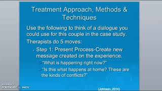 Emotion Focused Therapy - NP student presentation